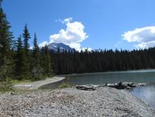 Idyllischer Glacier Lake
