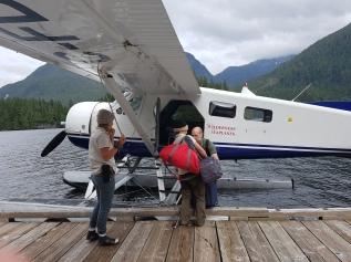 Mit dem Wasserflugzeug zur Great Bear Lodge